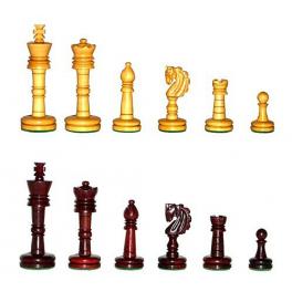 Игровой набор: деревянные шахматы + шашки, производство Россия