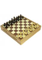 Шахматы-неваляшки деревянные