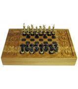 Шахматы+нарды «Крестоносцы»