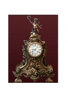 Бронзовые часы «Венок»