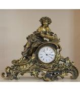 Бронзовые часы «Флора»