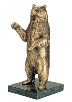 Бронзовая статуэтка «Медведь»