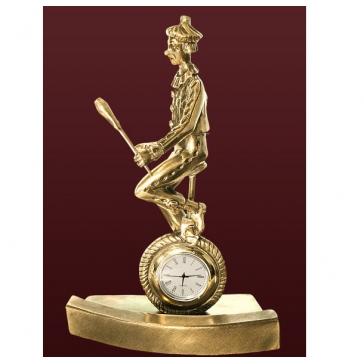 Часы из бронзы «Цирк»