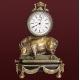 Бронзовые часы «Кабан»