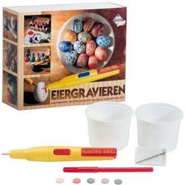 Набор для декорирования яиц. Гравер по яичной скорлупе, Pebaro, Германия.