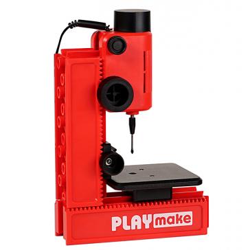 Набор PLAYMAKE с адаптером — многофункциональный станок по дереву. PLAYMAT, Австрия.
