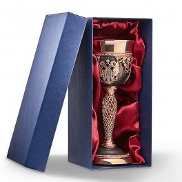 Подарочный бокал «Лоза», высота 14,5 см