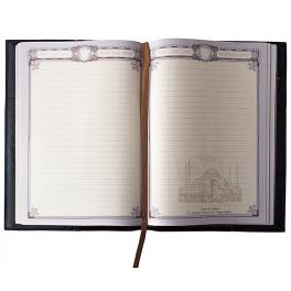 Кожаный ежедневник для мужчины «Лев»