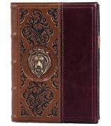 Кожаный ежедневник «Лев»
