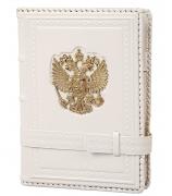Кожаный ежедневник «Россия Златоглавая»