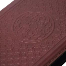 Подарочный ежедневник из кожи «Вензеля»