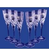 Набор из 6-ти бокалов для шампанского «Лотос»