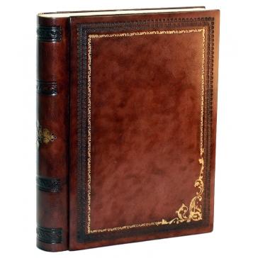 Подарочный кожаный фотоальбом «Бари»