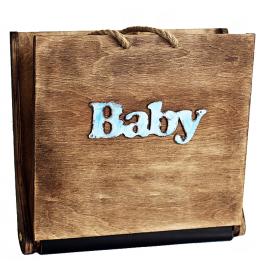 Детский фотоальбом «BALOCCO» (для мальчика), 30х30 см