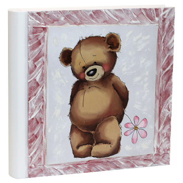 Детский фотоальбом «Тедди», для девочки