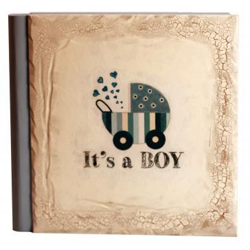 Детский фотоальбом «It's a boy», 30х30 см