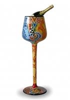 Напольная ваза для охлаждения шампанского