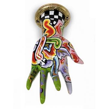 Держатель вешалка «Рука» от Томаса Хоффмана, Германия.