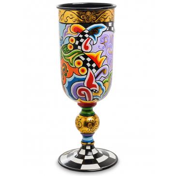 Оригинальная ваза «Кубок», высота 38,5 см