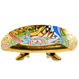 Тарелка для фруктов «Рассвет» от Томаса Хоффмана, Германия.