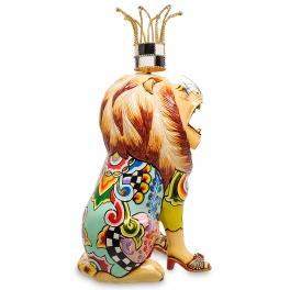 Коллекционная статуэтка лев «Кларанс» от Томаса Хоффмана, Германия.