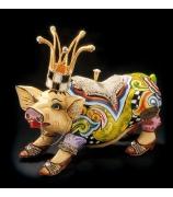 Статуэтка-шкатулка свинка «Лолита»