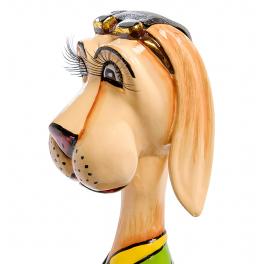 Статуэтка маленький пёс «Юлий» от Томаса Хоффмана, Германия.