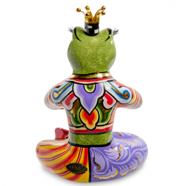 Статуэтка лягушка «Йога»