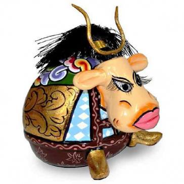 Статуэтка бык «Волтер» от Томаса Хоффмана, Германия.