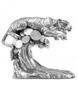 Статуэтка тигра «На волне успеха»