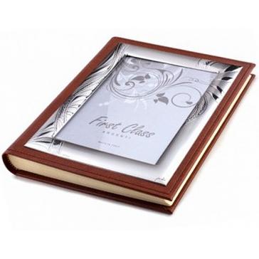 Кожаный альбом для фотографий «Лира»