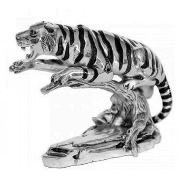 Посеребренная фигурка «Тигр»