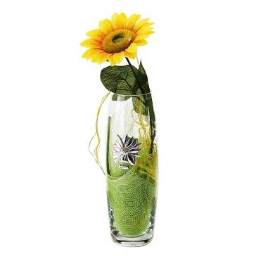 Подарочная ваза для цветов «Подсолнух»