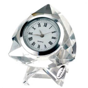 Стеклянные настольные часы