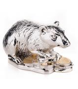 Статуэтка «Мышка на монетах»