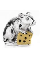 Статуэтка «Мышка с сыром»