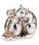 Статуэтка «Мышь с мешочком зерна»