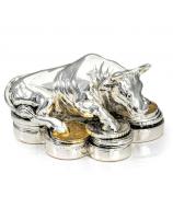 Статуэтка «Бык на монетах»