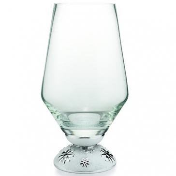 Стеклянная ваза для цветов «Виктория», высота 40 см