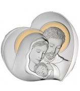 Миниатюра сердце «Святое семейство»