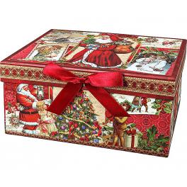 Набор елочных украшений ручной работы «Щелкунчик», подарочная упаковка