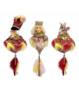 Набор елочных украшений «Щелкунчик»