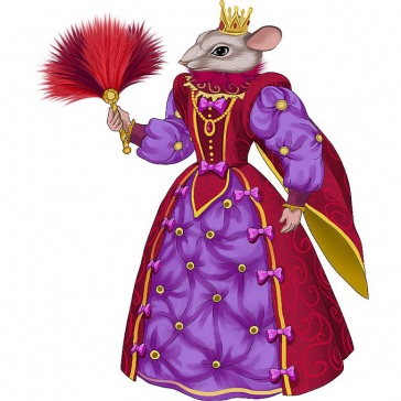 Коллекционная кукла «Королева Мышь», символ года 2020