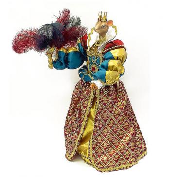 Коллекционная кукла ручной работы «Королева Мышь», символ года 2020