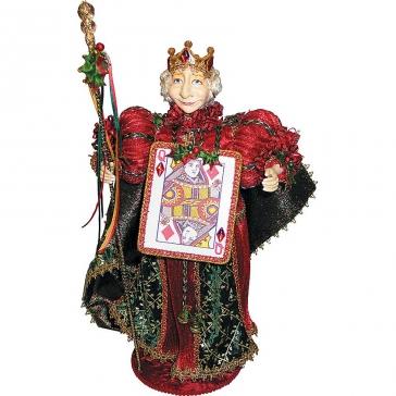 Коллекционная новогодняя кукла «Королева»