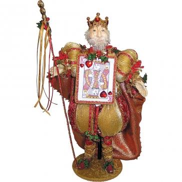 Коллекционная новогодняя кукла «Король»