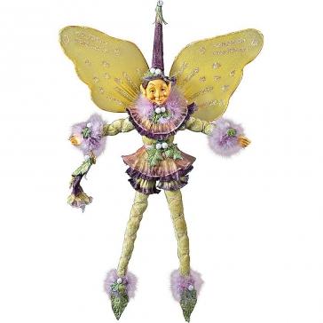 Коллекционная новогодняя кукла «Цветочный эльф»