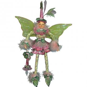 Подарочная коллекционная кукла «Цветочный эльф» от-кутюр