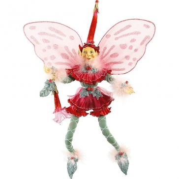 Новогодняя кукла «Цветочный эльф» в подарок, ручная работа