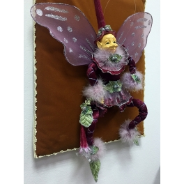 Коллекционная кукла «Цветочный эльф» с подарочной упаковкой, ручная работа